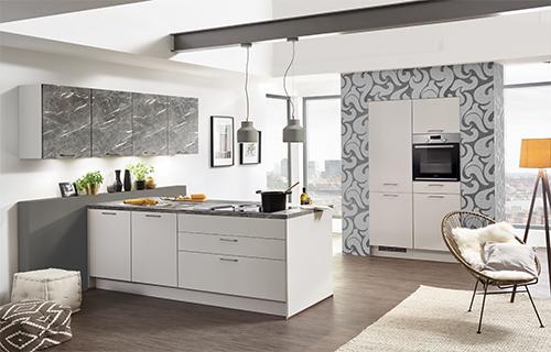 Designelemente einer modernen Küche